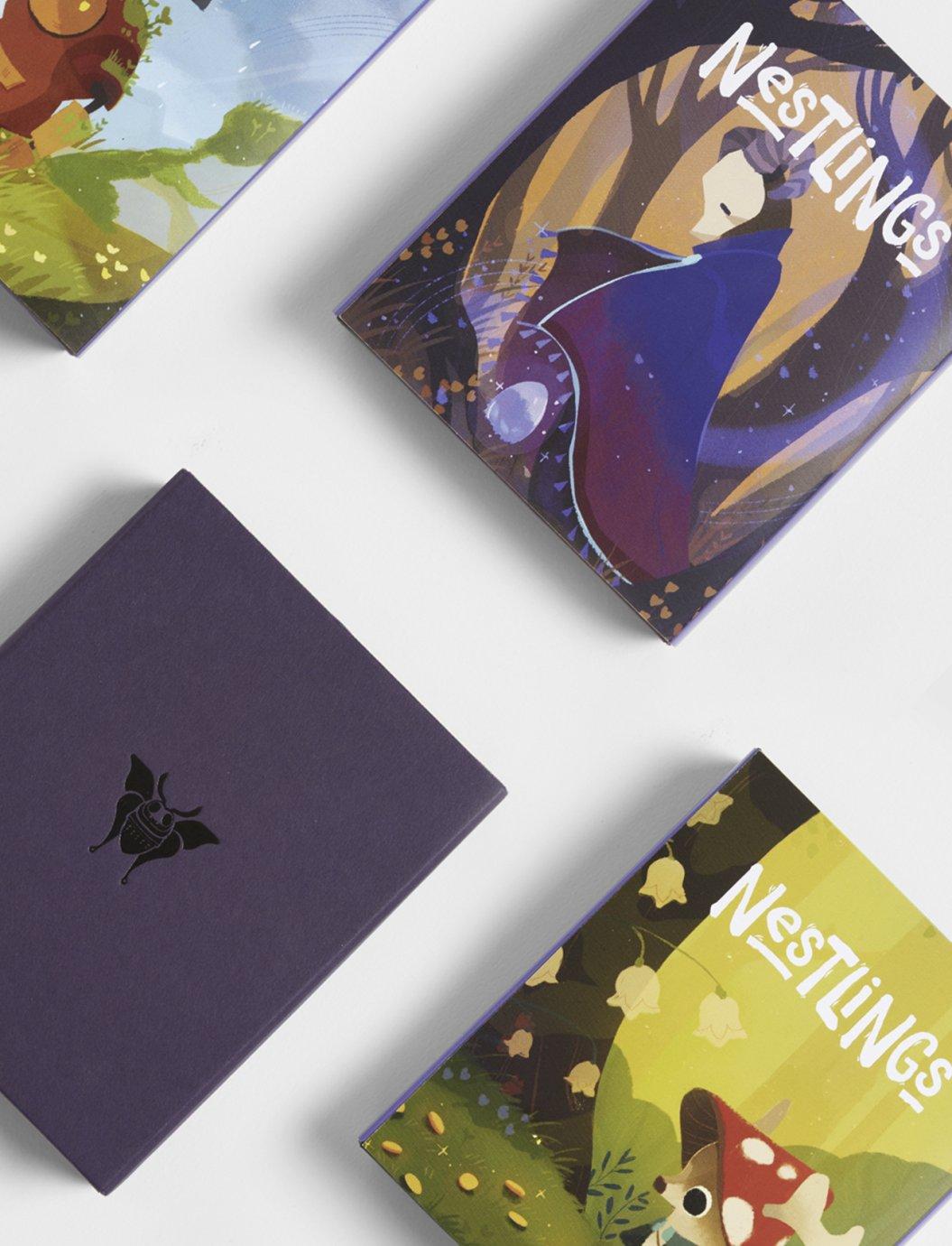 Nestlings - Fox Rogers – Design & Art Direction